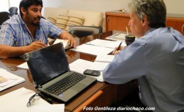 Sager se reunió con el intendente Walter Correa para evaluar la situación Sanitaria