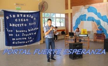Acto Apertura en EES N° 136 - Ciclo Lectivo 2017