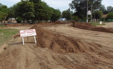 Pavimentación en Fuerte Esperanza