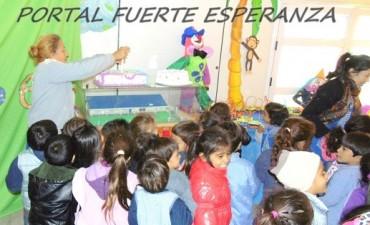 Primer Aniversario del Jardín de Infante N° 215 de Fuerte Esperanza