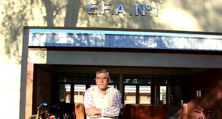 Entrevista a Elfio Avalos - 24 Aniversario de la EFA N° 1 09-05-2018
