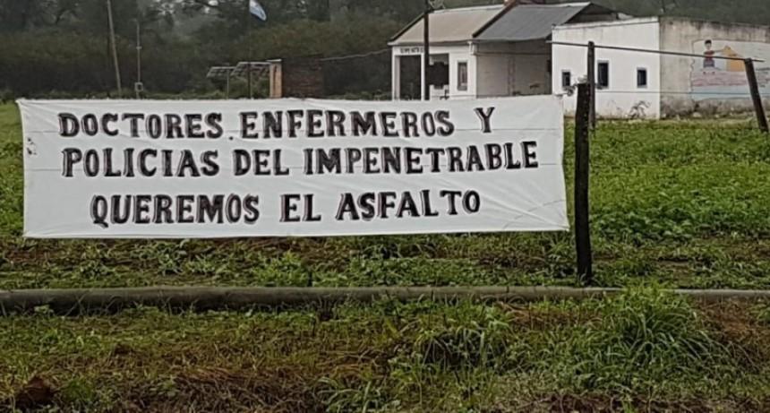 Ruta Juana de Azurduy: Fuerte Esperanza se concentra para el pedido del pavimento.
