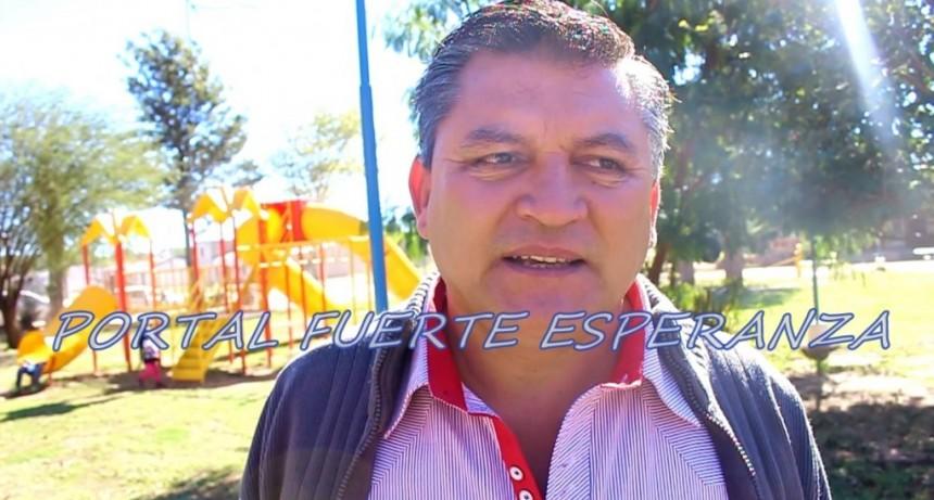 """El Presidente del Consorcio Caminero N° 103 """"Fuerte Esperanza"""" se unió al pedido por la Pavimentación de la Azurduy"""