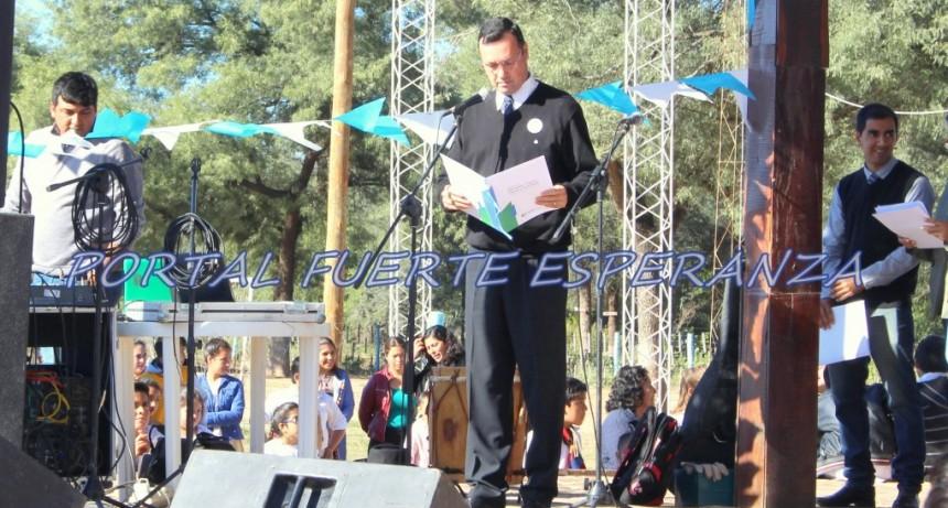 Gran Concurrencia en el Acto por el 25 de mayo en Fuerte Esperanza