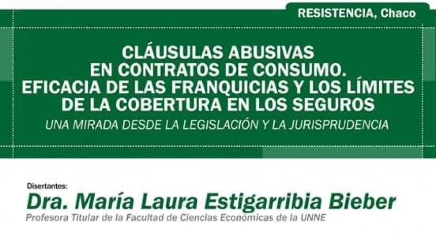 CAPACITACIÓN EN RESISTENCIA: PROFESIONALES DEL DERECHO BRINDAN CONFERENCIA