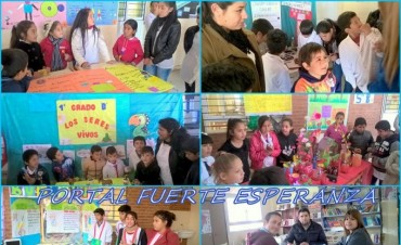 Feria de Ciencias en la E.E.P N° 887 de Fuerte Esperanza