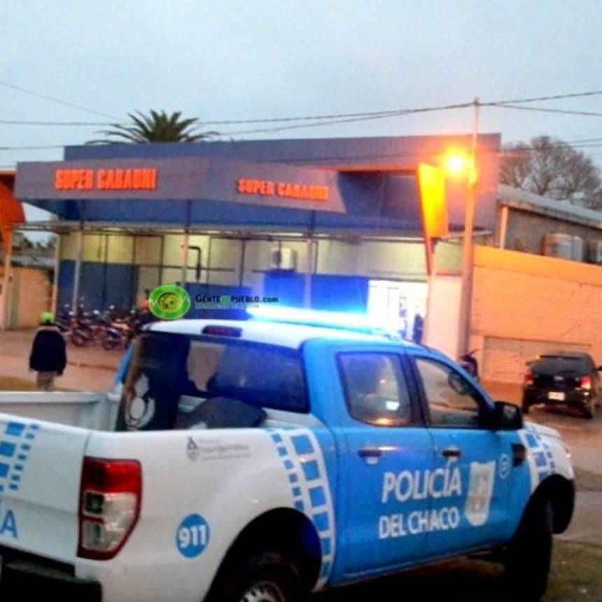 Villa Ángela: detienen a instigador de saqueos a supermercado