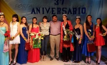 Elección de Reinas en Fuerte Esperanza en el 37° Aniversario de la Localidad