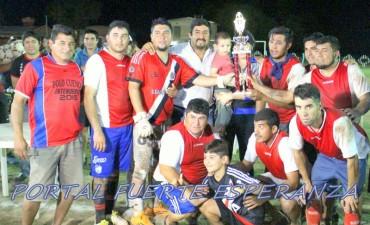 """El """"Club APA"""" Campeón de la Liga de Futbol de Fuerte Esperanza"""