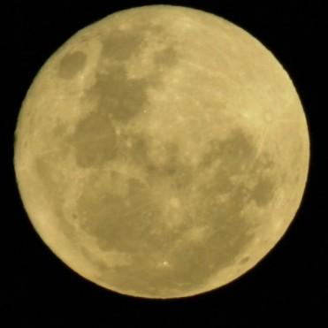Luna llena vista desde Fuerte Esperanza – 2017
