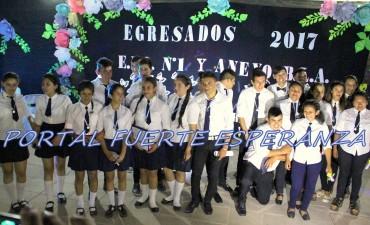 Acto de Egresados de la EFA N° 1 y Anexo BLA – 2017