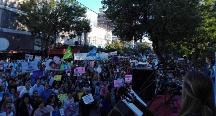 Resistencia se plegó a la marcha nacional por la vida y contra el aborto
