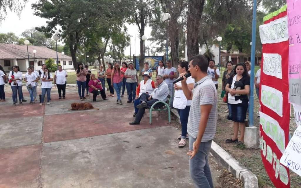 FUERTE ESPERANZA DOCENTES, DIRECTORES AUTOCONVOCADOS BAJO UNA MISMA LUCHA