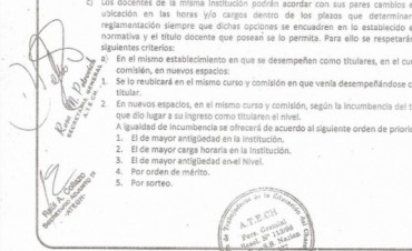 Atech presentó a Diputados proyecto a favor de docentes Terciarios