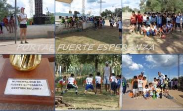 Primera Jornada Deportiva 2015 en el CEF Fuerte Esperanza