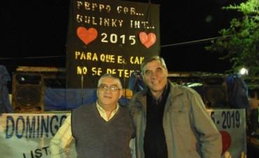 El Dúo Avalos-Lencina y su Conjunto en la Sede del Partido Justicialista
