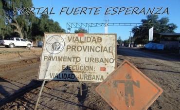Pavimentación, Sí! Pavimentación en Fuerte Esperanza