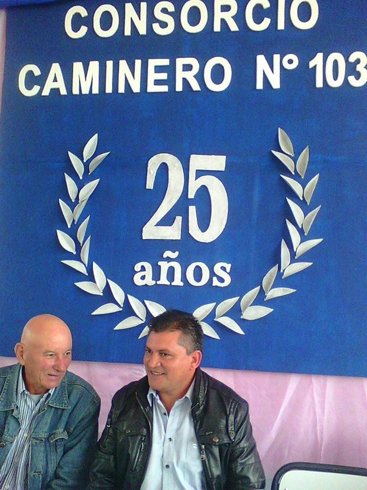 DESDE FUERTE ESPERANZA EL CONSORCIO CAMINERO 103, SALUDA A LA FAMILIA CONSORCISTA DEL CHACO