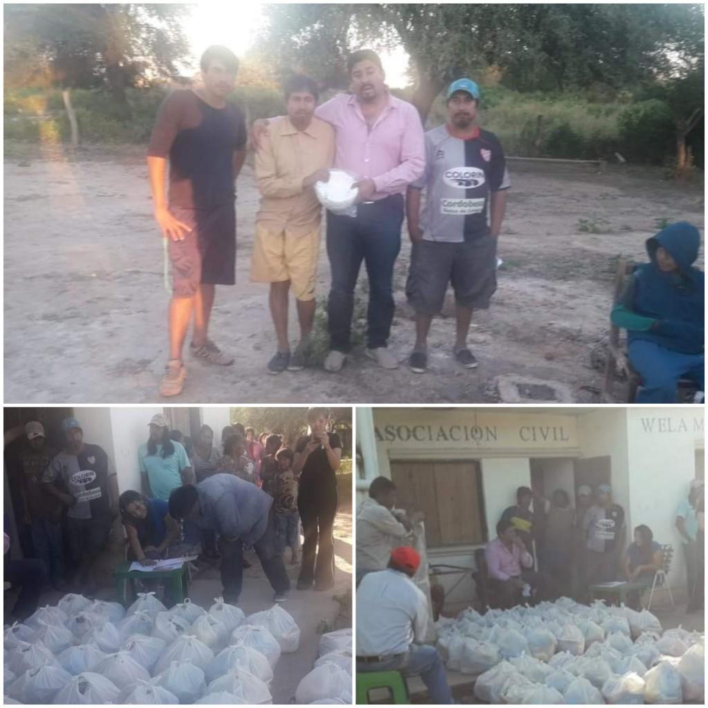 El Intendente Walter Correa llevó Asistencia a la Comunidad Wichi