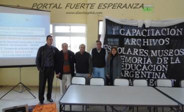"""1ra Capacitación """"Archivos Escolares, Museos y Memoria de la Educación Argentina"""""""