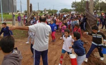 Primera Jornada Deportiva del CEF con la EEP 887- Edición 2015