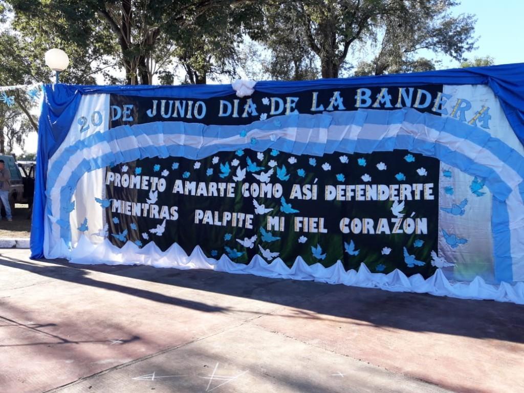 Fuerte Esperanza: Acto Día de la Bandera 1812 2019