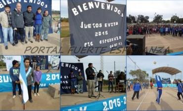 Juegos Evita 2015 en Fuerte Esperanza