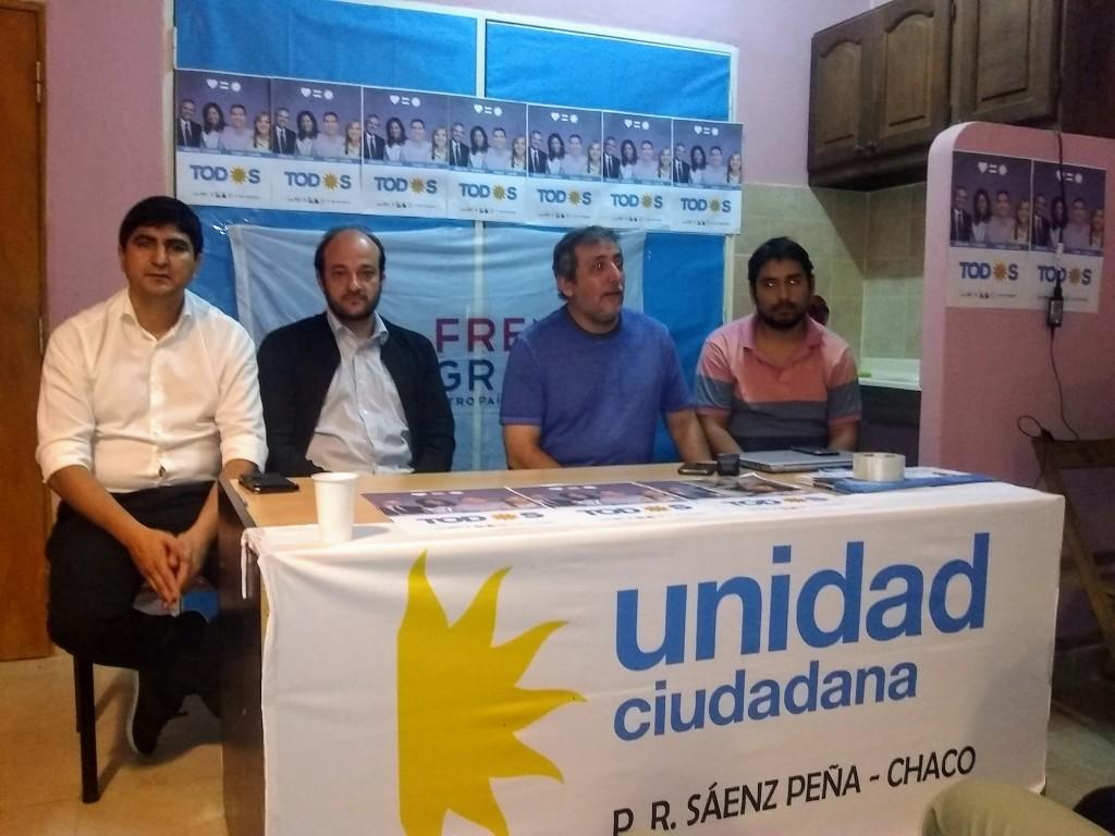 Inauguración de una Básica de Unidad Ciudadana