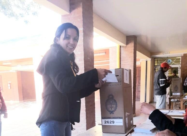 Fuerte Esperanza: Eugenia Mercado ya emitió su Voto | PASO 2019