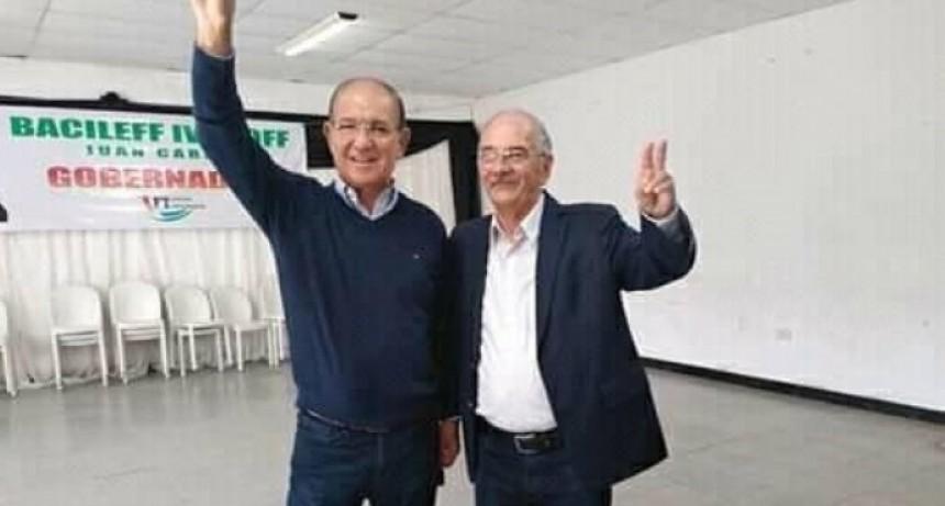 Bacileff Ivanoff confirmó a César Picón como su compañero de fórmula
