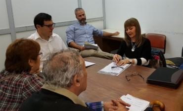 El Diputado Germán Perelli y gremios estatales analizaron la situación del INSSSEP