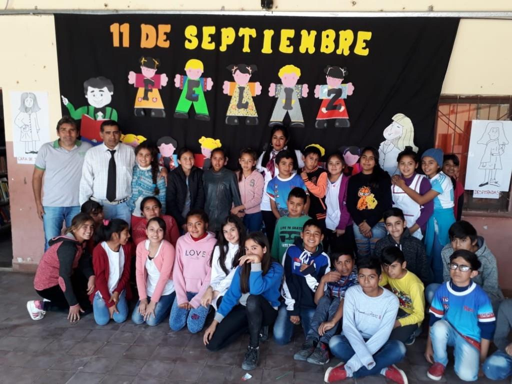 Sauzalito: Acto por el Día del Maestro y Bibliotecario | Homenajes 2019