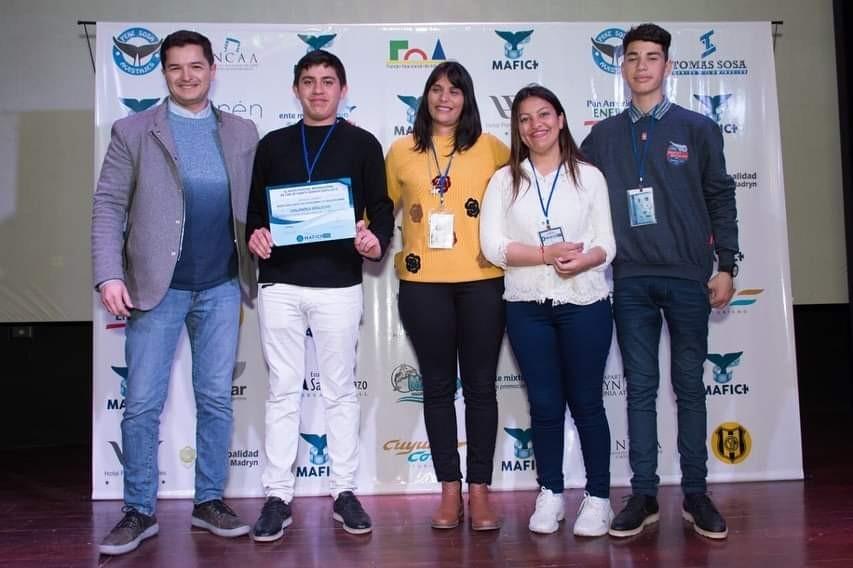 Villa Ángela: Los Estudiantes de la EES N° 14 participaron del Festival Internacional de Cine.