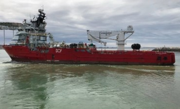 El audio que alerta sobre la posible presencia de un submarino a media agua