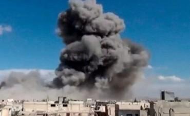 21 niños muertos por los bombardeos de la aviación rusa en Siria